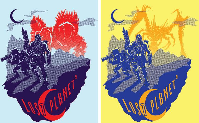 Lost Planet 2 shirt color ideas